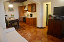 Apt. Paglia|Living Room and Kitchen