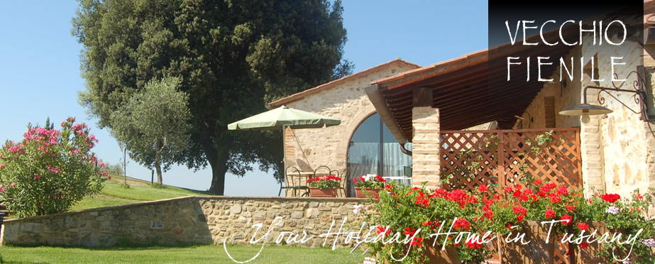 Vecchio Fienile: Holiday House near Siena and Florence