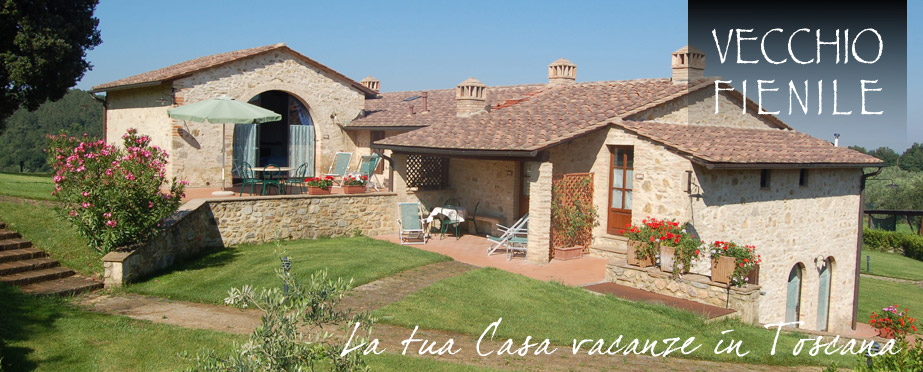 Casa vacanze con piscina toscana foto agriturismo vecchio for Piani casa fienile